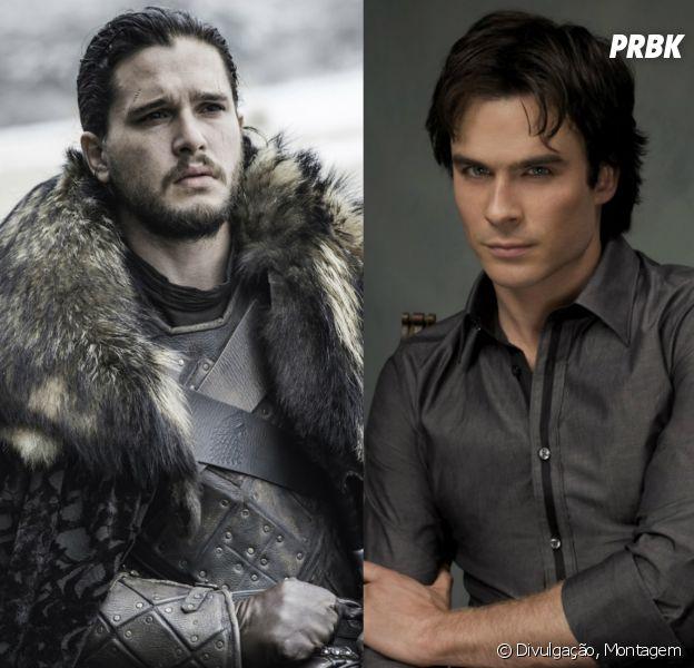 """De """"Game of Thrones"""" a """"The Vampire Diaries"""": confira os personagens que são crush de todo mundo!"""