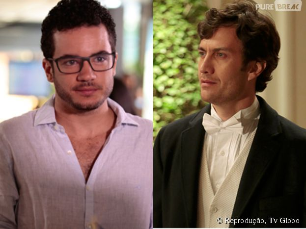 "Felipe (Thiago Mendonça) enfrenta Laerte (Gabriel Braga Nunes) na novela ""Em Família"""
