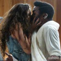 """Em """"Geração Brasil"""": Luene beija Brian depois de invadir o quarto do guru!"""