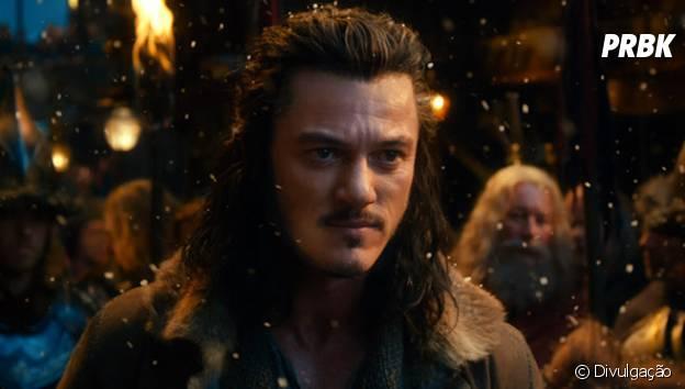 """Na trilogia """"O Hobbit"""", Luke Evans interpretou o arqueiro Bard"""