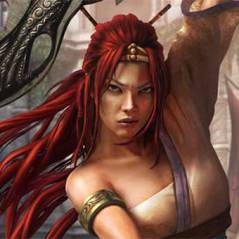 "A ruiva poderosa de ""Heavenly Sword"" volta com um filme inspirado no game"
