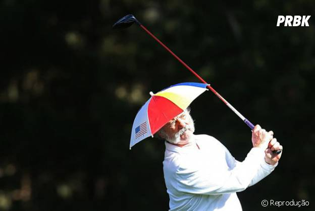 Bill Murray jogando golf
