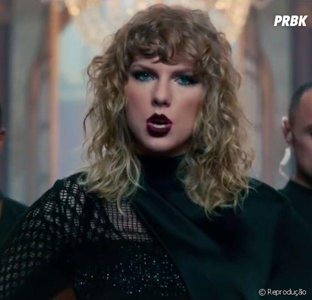 "Taylor Swift libera teaser do clipe de ""Look What You Made Me Do"""