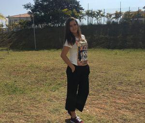 Maisa Silva com um look mais despojado, perfeito para quem não gosta de nada muito colado