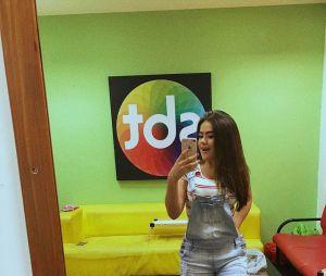 Maisa Silva com um look básico, porém lindo
