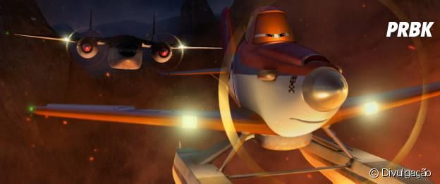 """Dusty é o protagonista de """"Aviões 2 - Heróis do Fogo ao Resgate"""""""
