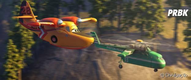 """Sons reais foram usados para dar mais realismo a """"Aviões 2"""""""