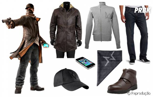 "Aiden Pearce do game ""Watch Dogs"""