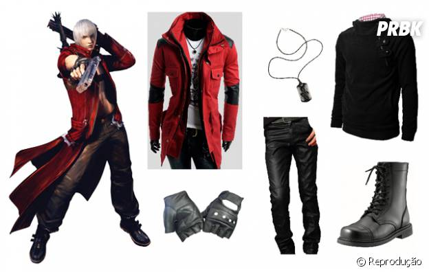 "Dante do game ""Devil May Cry"""