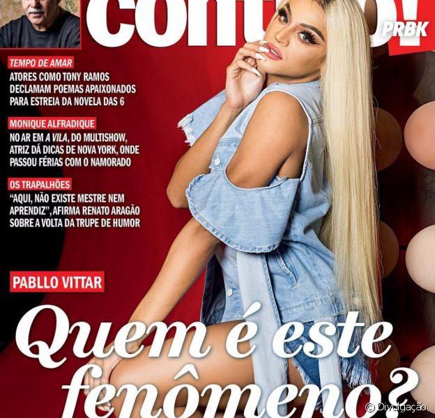 Pabllo Vittar é capa da revista Contigo!
