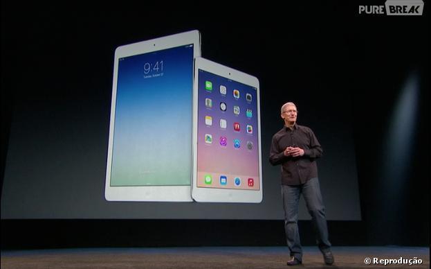 Novos iPads apresentados em São Francisco na Califórnia