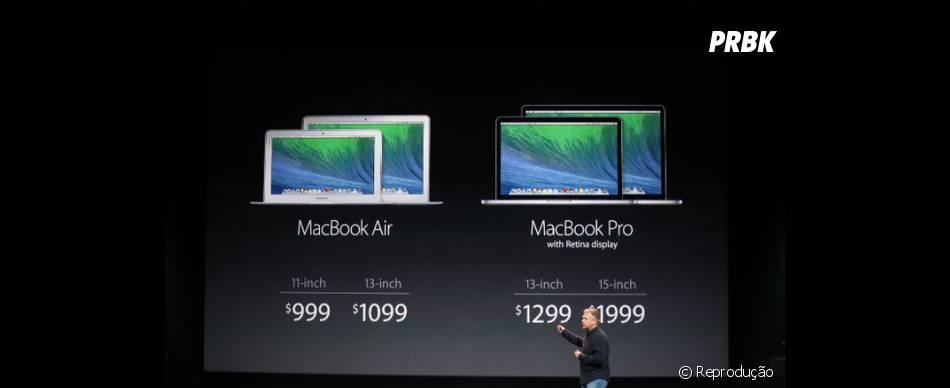 Apple apresenta seus MacBooks com tela de retina