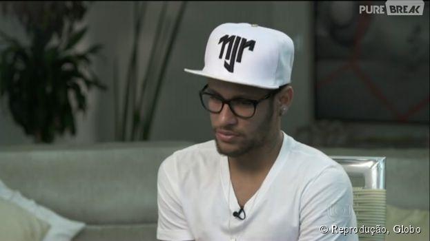Em entrevista para o Fantástico, da Globo, Neymar fala sobre Copa do Mundo e Bruna Marquezine