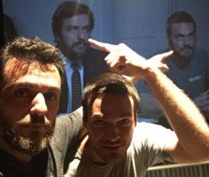 """De """"A Força do Querer"""", Rodrigo Lombardi e Emílio Dantas brincam com seus personagens, rivais na novela"""