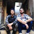 """De """"A Força do Querer"""", Paolla Oliveira e Emílio Dantas aparecem juntos nos bastidores da novela"""