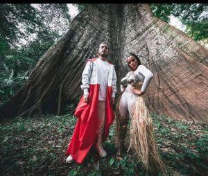 Anitta está com o DJ Alesso na Amazônia!
