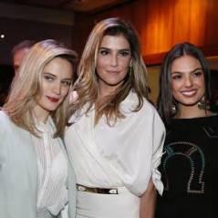 "Isis Valverde, Deborah Secco e Bianca Bin arrasam em coletiva de ""Boogie Oogie"""