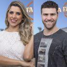 """Enquete """"A Fazenda"""": Ana Paula Minerato e Marcelo Ié Ié estão na roça. Quem deve ficar?"""