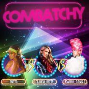 """Anitta canta """"Downtown"""" e faz cover de Destiny's Child com Claudia Leitte e Karol Conká na Combatchy"""