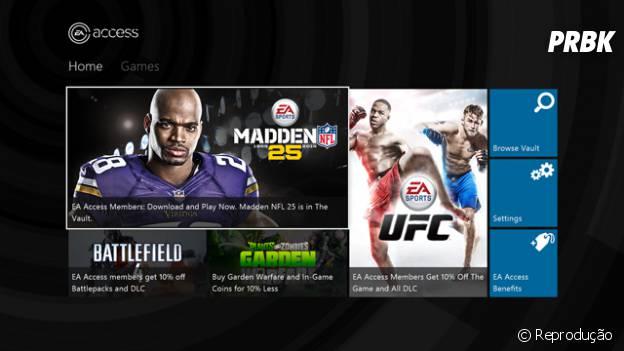 """O valor mensal do """"EA Access"""" é de US$4,99"""