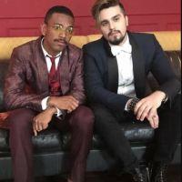 """Luan Santana e Nego do Borel confirmam música juntos: """"Contatinho"""" será lançada em breve!"""