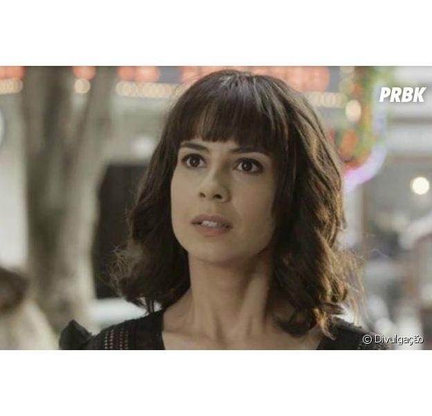 """Em """"Tempo de Amar"""", Lucinda (Andreia Horta) dá ataque ao ser abandonada por Inácio (Bruno Cabrerizo)"""