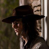 """Em """"The Walking Dead"""", na 8ª temporada: Carl (Chandler Riggs) saiu da série porque ator foi demitido"""