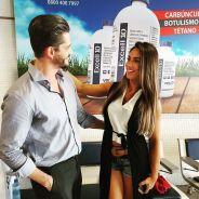 """Após """"A Fazenda"""", Nicole Bahls convida Marcos Harter para ser padrinho de seu casamento"""