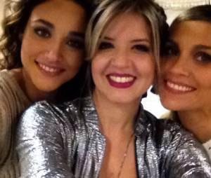 """Mariana Santos posou com Flávia Alessandra e Débora Nascimento nos bastidores de """"Amor & Sexo""""!"""