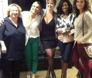 """Mariana Santos publicou foto junto com as convidadas de """"Amor & Sexo"""""""