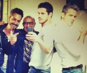 """Otaviano Costa postou foto junto com o elenco de """"Amor & Sexo"""" nesta quinta-feira (24)!"""