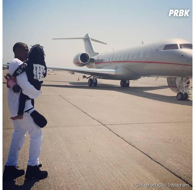 Jay Z é pai de Blue Ivy