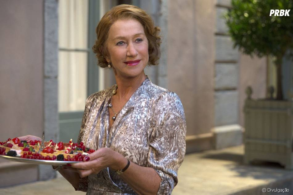 """Helen Mirren é uma respeitada chefe de cozinha em """"A 100 Passos de um Sonho"""""""