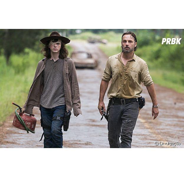 """Em """"The Walking Dead"""", morte de Carl (Chandler Riggs) foi divisor de águas para a série"""