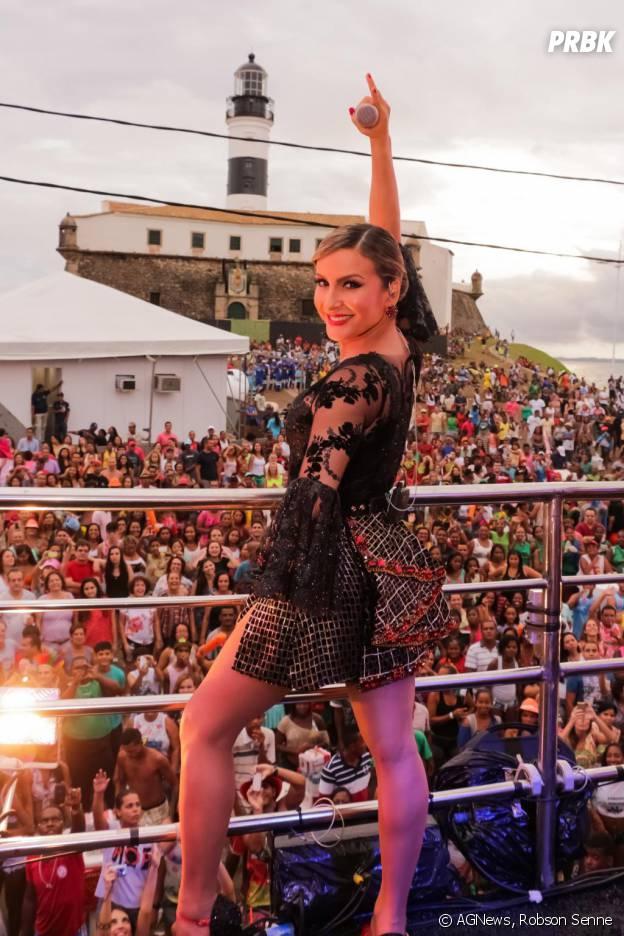 Claudia Leitte também terá seu tradicional trio elétrico em Salvador, na Bahia