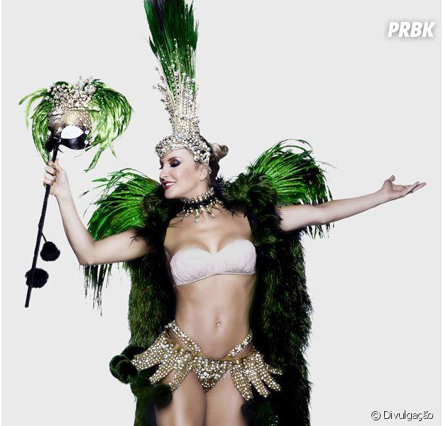 Claudia Leitte é nova a soberana da bateria da Mocidade Independente de Padre Miguel no Carnaval Carioca de 2015!