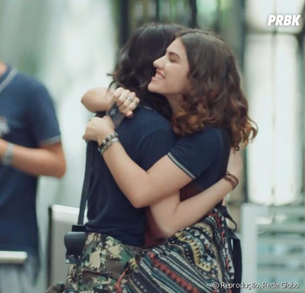 """Vem ver o que Manoela Aliperti, de """"Malhação"""", diz sobre Lica, Samantha (Giovanna Grigio) e Limantha!"""