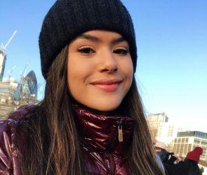 Maisa Silva aproveitou sua viagem na Europa para fazer essa selfie lindíssima