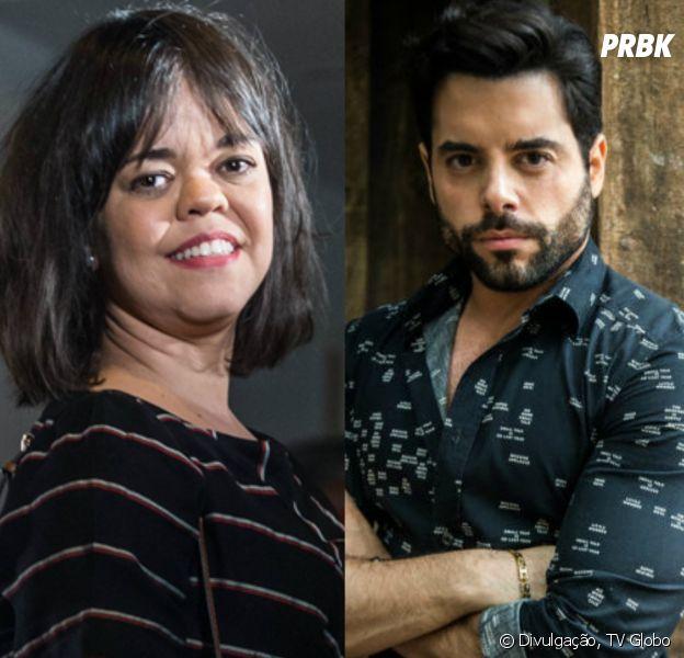 """Em """"O Outro Lado do Paraíso"""": Amaro (Pedro Carvalho) desiste de se casar com Estela (Juliana Caldas)"""