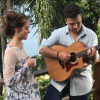 Giovanna Chaves grava clipe com Pedro Thomé e ganha elogios   quot Linda e  muito bce084be89