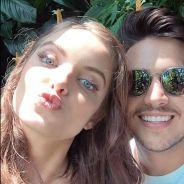 """Giovanna Chaves grava clipe com Pedro Thomé e ganha elogios: """"Linda e muito profissional"""""""
