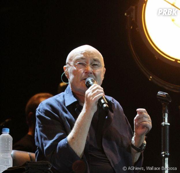 """Phil Collins começou sua turnê """"The Legendary Phil Collins Live"""" no Rio de Janeiro na última quinta-feira (22)"""