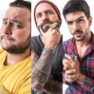 """No """"BBB18"""": Lucas, Diego e Caruso formam paredão! Quem deve sair?"""