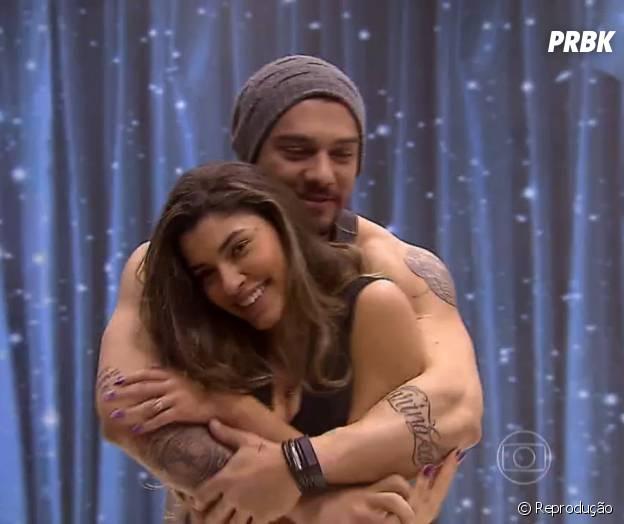 """Rola o maior clima entre Lucas Lucco e Ana Paula Guedes nos ensaios da """"Dança dos Famosos 2014"""""""
