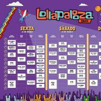 Lollapalooza 2018 divulga horários dos seus shows. Veja e programe-se!