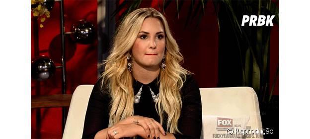 Demi Lovato está sempre apoiando a galera