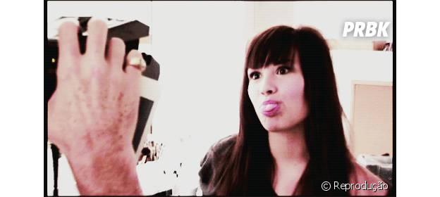 Demi Lovato é uma pessoa brincalhona