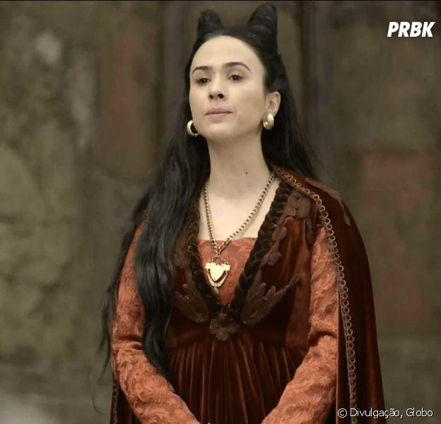 """Em """"Deus Salve o Rei"""", Lucrécia (Tatá Werneck) vira freira!"""
