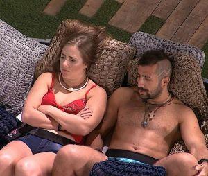 """No """"BBB18"""", Patrícia e Kaysar falam mal de Gleici!"""