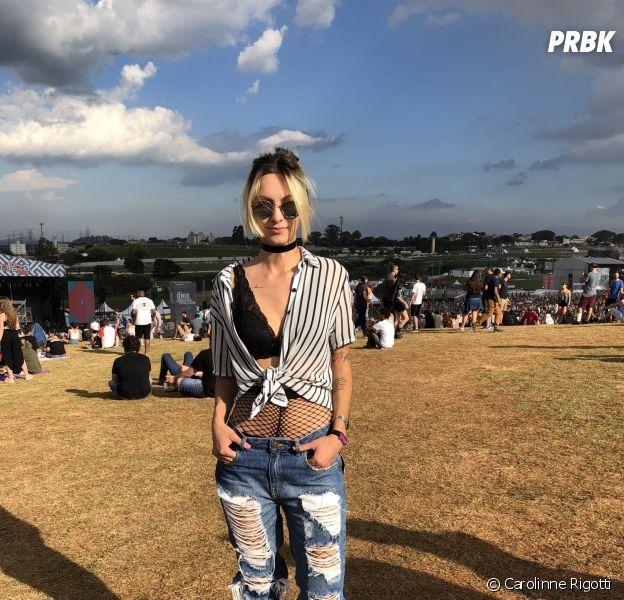 Lollapalooza 2018 reunião um monte de gente estilosa!